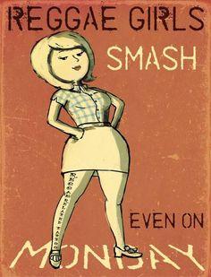 Reggae Girls Smash (even on Monday)