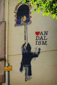 Banksy in Bristol..∂٨٥٦.  https://www.etsy.com/shop/urbanNYCdesigns?ref=hdr_shop_menu. .