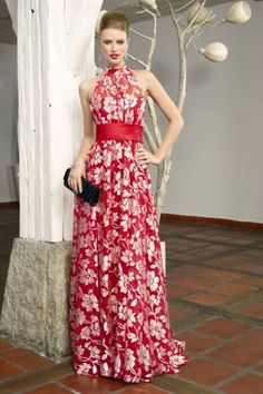 Pin Ideas Para Vestidos De Novia Boda Civil Vestido On Pinteest Lovely Dresses, Elegant Dresses, Beautiful Outfits, Formal Dresses, Vetement Fashion, Evening Dresses, Summer Dresses, Mom Dress, Dress Red