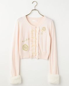 ☆17th Anniversary☆袖ファー刺繍カーディガン|渋谷109で人気のガーリーファッション リズリサ公式通販