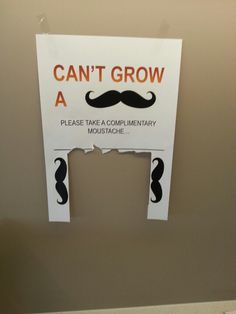 Movember.  Learn more about cancer services at Doylestown Hospital at: http://www.dh.org/cancer?utm_source=pinterest&utm_medium=referral&utm_campaign=movember