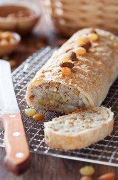 Hruškový závin - Recept pre každého kuchára, množstvo receptov pre pečenie a varenie. Recepty pre chutný život. Slovenské jedlá a medzinárodná kuchyňa