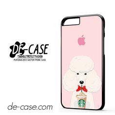 I Love Starbucks Pink Dog For Iphone 6 Iphone 6S Iphone 6 Plus Iphone 6S Plus Case Phone Case Gift Present YO