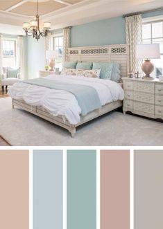 Warm Bedroom Colors, Bedroom Colour Palette, Bedroom Color Schemes, Bedroom Green, Small Room Bedroom, Modern Bedroom, Colour Schemes, Bedroom Ideas, Cozy Bedroom