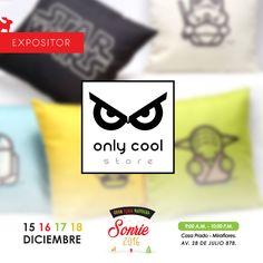 Gracias Only Cool Store por participar en Nuestra Feria Sonrie: es Navidad. Los regalos más cool! Sígue a Only Cool Store en: https://www.facebook.com/only.cool.store?fref=ts Encuentra esto y más Haz Click y conoce nuestra Web ▶ http://www.feriasonrie.com/ No te pierdasNuestra #GranFeriaNavideña. Sonríe es Navidad