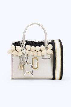 a4e23c729ad Marc Jacobs Beads & Pompoms Little Big Shot in Platinum Marc Jacobs Bag,  Bugle