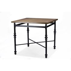 Baxton Studio Broxburn Vintage Industrial Wood and Metal Pub Table | Overstock.com Shopping - The Best Deals on Bar Tables