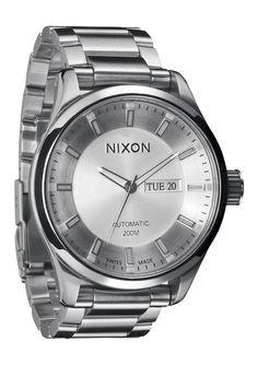 The Automatic - White | Nixon