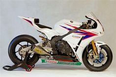 Honda World Superbike livery