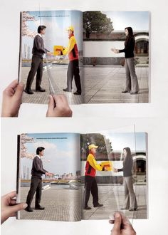 DHL advertentie