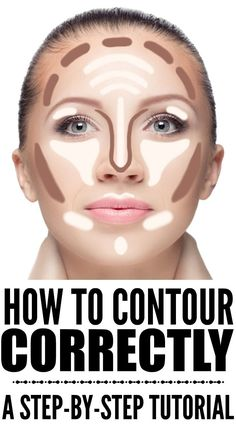 If you want to know how to contour your face correctly, but don't know what products to use, what makeup brushes work best, and what makeup application techniques will give you the most definition for (Contour Makeup Step) Contouring For Beginners, Makeup For Beginners, Beginner Makeup Tutorial, Makeup Tutorial Step By Step, How To Contour For Beginners, How To Contour Your Face, How To Apply Makeup, What Makeup To Buy, Contour For Round Face