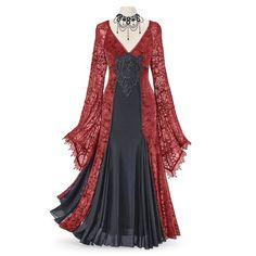 Lace Maxi, Lace Dress, Medieval Gown, Medieval Gothic, Medieval Fashion, Steampunk Fashion, Gothic Fashion, Plus Size Dresses, Dresses For Sale