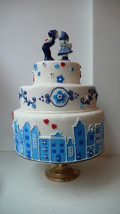 Delft Cake. wauw, die vind ik echt cool !
