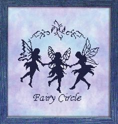 Absolutely love this....Fairies Cross Stitch Freebies | HeartStitch Designs: Freebies