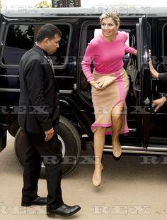 Queen Maxima attends Donar Meeting, Dhaka, Bangladesh - 16 Nov 2015 Queen Maxima of The Netherlands 16 Nov 2015
