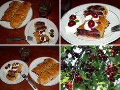 Třešňový závin s mákem: Třešně na stromě, léto za dveřmi | MAKOVÁ PANENKA Pancakes, Tacos, Breakfast, Ethnic Recipes, Food, Morning Coffee, Essen, Pancake, Meals