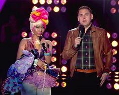 Nicki Minaj and skinny Jonah Hill at MTV Video Music Awards
