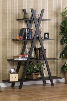 "Black ""X"" Etagere by Traditional Loft Style on @HauteLook"