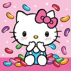 Hello kitty jelly beans