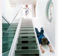 Umm AWESOME!! stair / slide