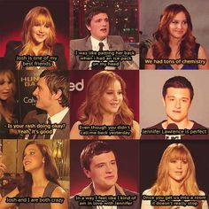 I love Josh and Jennifer's relationship. They're hilarious together.