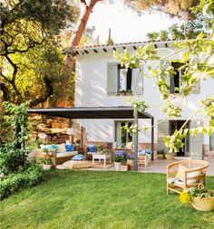 〚 Charming holiday home in Spanish countryside 〛 ◾ Photos ◾Ideas◾ Design Cozy Cottage, Cozy House, Home Room Design, House Design, Stone Houses, Beautiful Interiors, Interior Design Living Room, Design Interior, House Tours