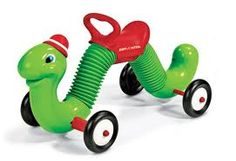 This Radio Flyer Inchworm Ride-On has an adorable, friendly face that is sure to delight your child. This Radio Flyer Ride-On features an ergonomic saddle with Radio Flyer, My Childhood Memories, Childhood Toys, Kids Ride On Toys, 70s Toys, Children's Toys, Retro Toys, Best Kids Toys, Classic Toys