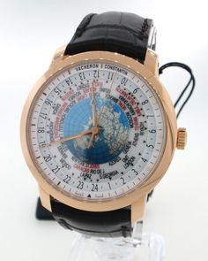 Vacheron Constantin Patrimony Traditionnelle World Time 86060/000r-9640 Rose #VacheronConstantin