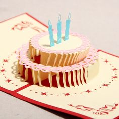 pop up birthday card template | Cards Designs Ideas