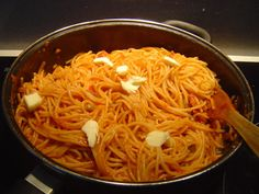 Dominican spaghettis....i tried this recipe and it was on point! i added red pepper flakes for a kick