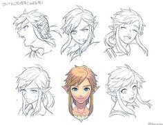 Link Expressions : WiiU Hunter By Tsuuuyu: