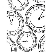 Darice® Embossing Folder - Clock - x Steampunk Clock, scrapbooking, card making, greeting cards, invitations and Paper Cutting Machine, Folders, Steampunk Clock, Brick Wall Background, Die Cut Machines, Online Craft Store, Big Shot, Embossing Folder, Diy