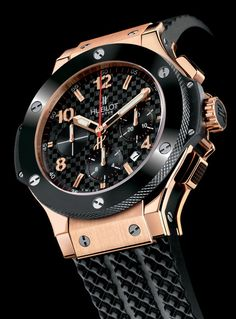 Hublot Big Bang 44mm Rose gold cheramic