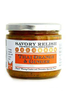 Thai Oranger Ginger Savory Relish