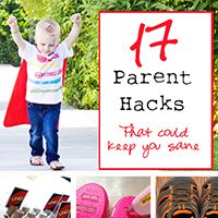 17 Parent Organizational Hacks - that can keep you sane! Put your kids to work. Make it a game. They will never know the difference...
