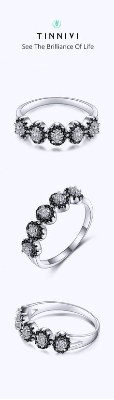 Shop ❤️Tinnivi Fashion Created White and Black Sapphire Sterling Silver Wedding Band❤️online️, Tinnivi creates quality fine jewelry at gorgeous prices. Shop now! Wedding Anniversary Rings, Wedding Bands, Jewelry Gifts, Fine Jewelry, Cheap Engagement Rings, Black Sapphire, Gifts For Him, Jewelry Design, Bride