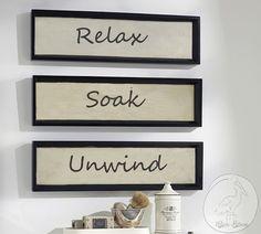 Rustic Bathroom Frames -Bathroom Shelves -Bath - Wooden Frames-Bathroom -Rectangular Frames -Bath Decor- Home Decor -Wooden Decoration