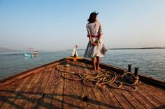 Twenty years from now you will be more disappointed  by the things you didn't do than by the ones you did do.  So throw off the bowlines, sail away from the safe harbor.  Catch the trade winds in your sails.  Explore. Dream. Discover.  - Mark Twain    Picture by Steve Mccurry