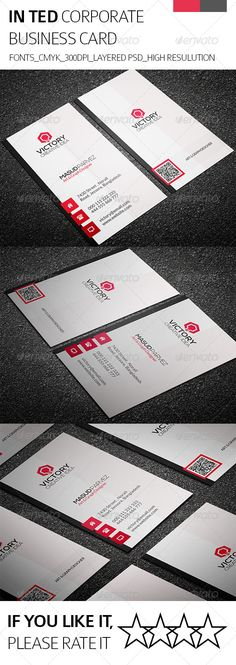 Inted & Corporate Business Card