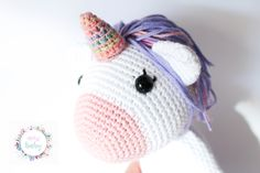 amigurumi unicorn, crochet unicorn, unicorn toy, unicorn plush, stuffed unicorn, unicorn plushie, unicorn doll, unicorn soft toy, stuffed,   Beautiful plush unicorn, perfect to give away on any occasion. Totally customizable, choose the color from a wide range, if you want security eyes or embroider. Unicorn Doll, Crochet Unicorn, Crochet Baby Toys, Crochet Hats, Plushies, Stuffed Unicorn, Hello Kitty, Etsy, Handmade Gifts