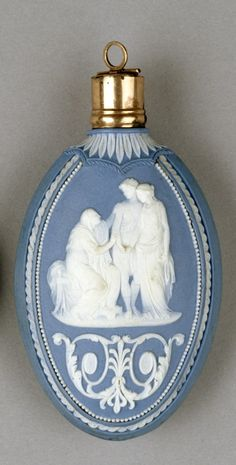 Wedgewood Scent Bottle with Mythological Scenes, late 18th c.