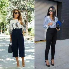 Bom dia com estas inspirações de look escritório pra segunda-feira não ser chata né gente! As listras são atemporais e podem te acompanhar em diversos looks de estilos diferentes! E aí, qual o seu preferido? • • #bomdia #lookescritorio #lookoffice #dicadodia #estilounico #fashionblog #fashionblogger #inspiracaododia #instafashion #lojaonline #lookdodia #minimalstyle #modafeminina #ninacostaloja #ootd #styeloftheday #araçatuba #birigui