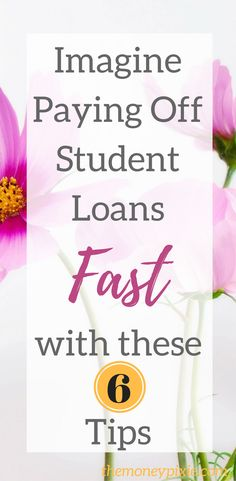 How to Pay Off Student Loans Fast - Paying Credit Card Debt - Ideas of Paying Credit Card Debt - Drowning in student loan debt? You might be surprised but paying off student loans fast is possible. These 6 tips will help you do just that. Read on now. Student Loan Payment, Private Student Loan, Paying Off Student Loans, Grants For College, Scholarships For College, College Loans, College Students, College Tips, School Loans