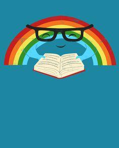 """""""Reading Rainbow"""" by Jay Fleck"""