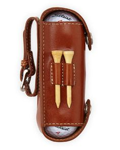 N2YRM Neiman Marcus Leather Golf Case, Harness