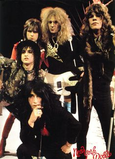 Image result for new york dolls pinterest