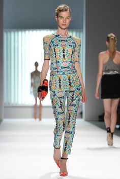 Milly by Michelle Smith RTW Spring 2013 - i am so very enthused that jumpsuits are still happening. so very.