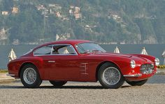 Maserati 2000 Tipo D Coupé by Zagato Vintage Sports Cars, Classic Sports Cars, Vintage Cars, Classic Cars, Alfa Romeo, Jaguar, Maserati Models, Mercedes Benz, Porsche