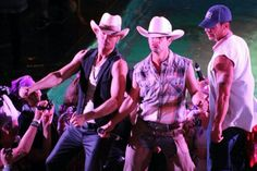 Cowboy night #nkotbcruise2014