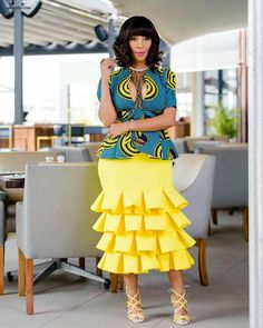 The Trending and most Inspired Ankara styles every Fashionista should have in her closet at the moment. African Fashion Designers, Latest African Fashion Dresses, African Print Dresses, African Print Fashion, Africa Fashion, African Dress, Ankara Fashion, African Prints, African Attire